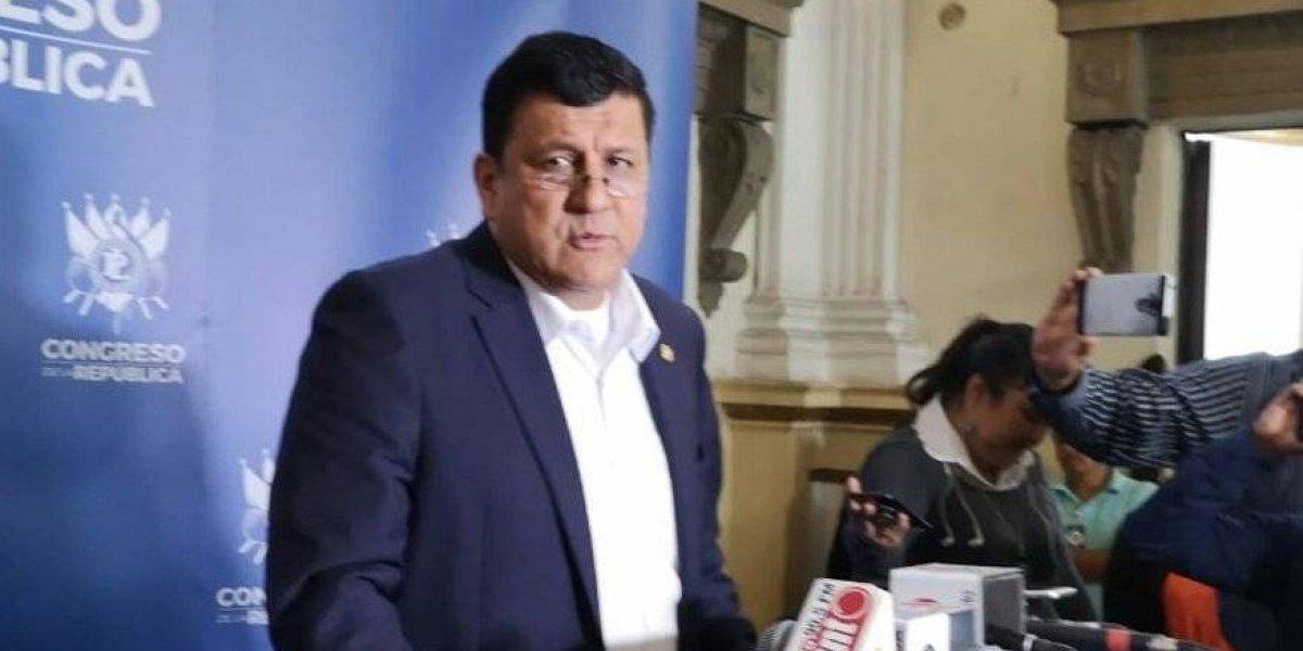 Comisión permanente analizará petición de Galdámez de convocar para conocer tema de CICIG