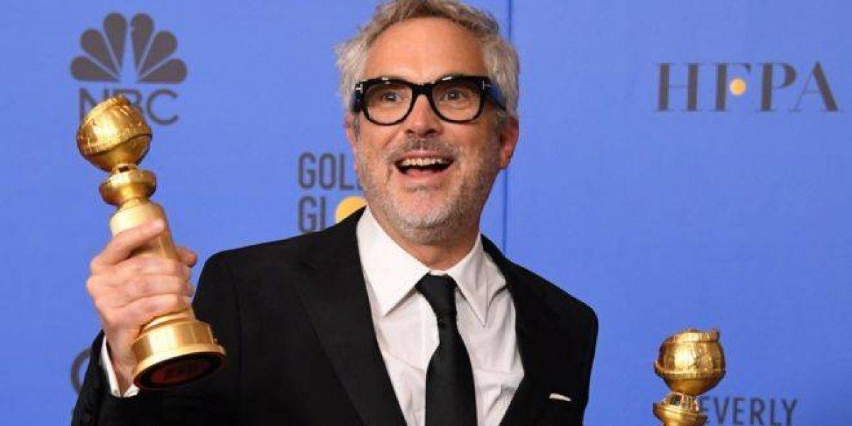 """Alfonso Cuarón triunfa en los """"Globos de Oro"""" con su película 'Roma'"""