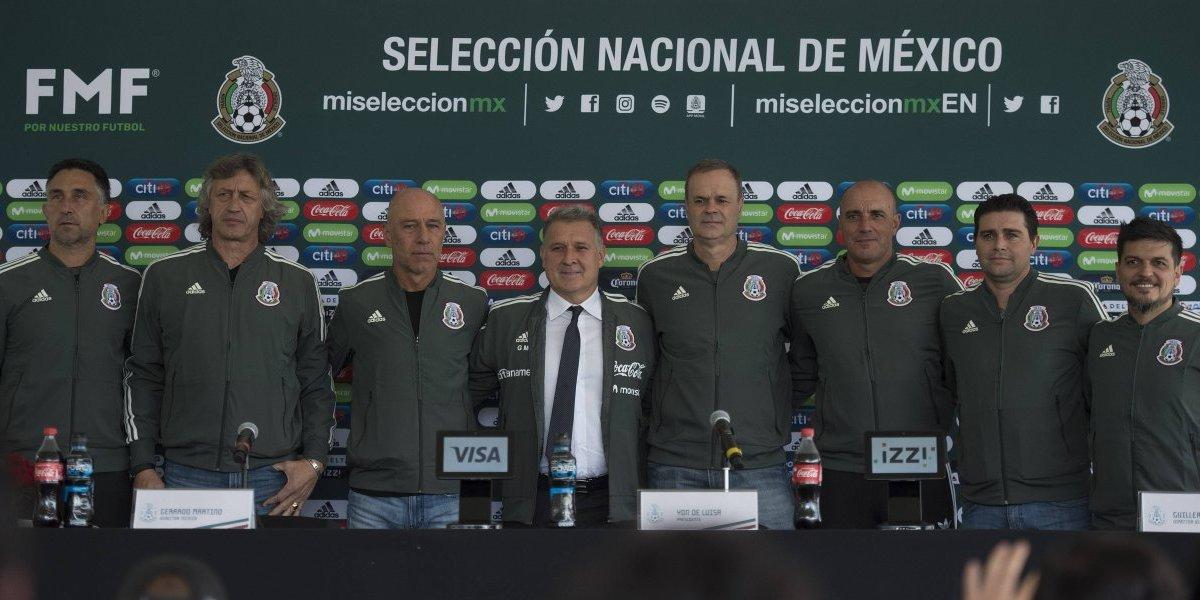 'Deseo tener un equipo confiable en el menor tiempo posible': Tata Martino