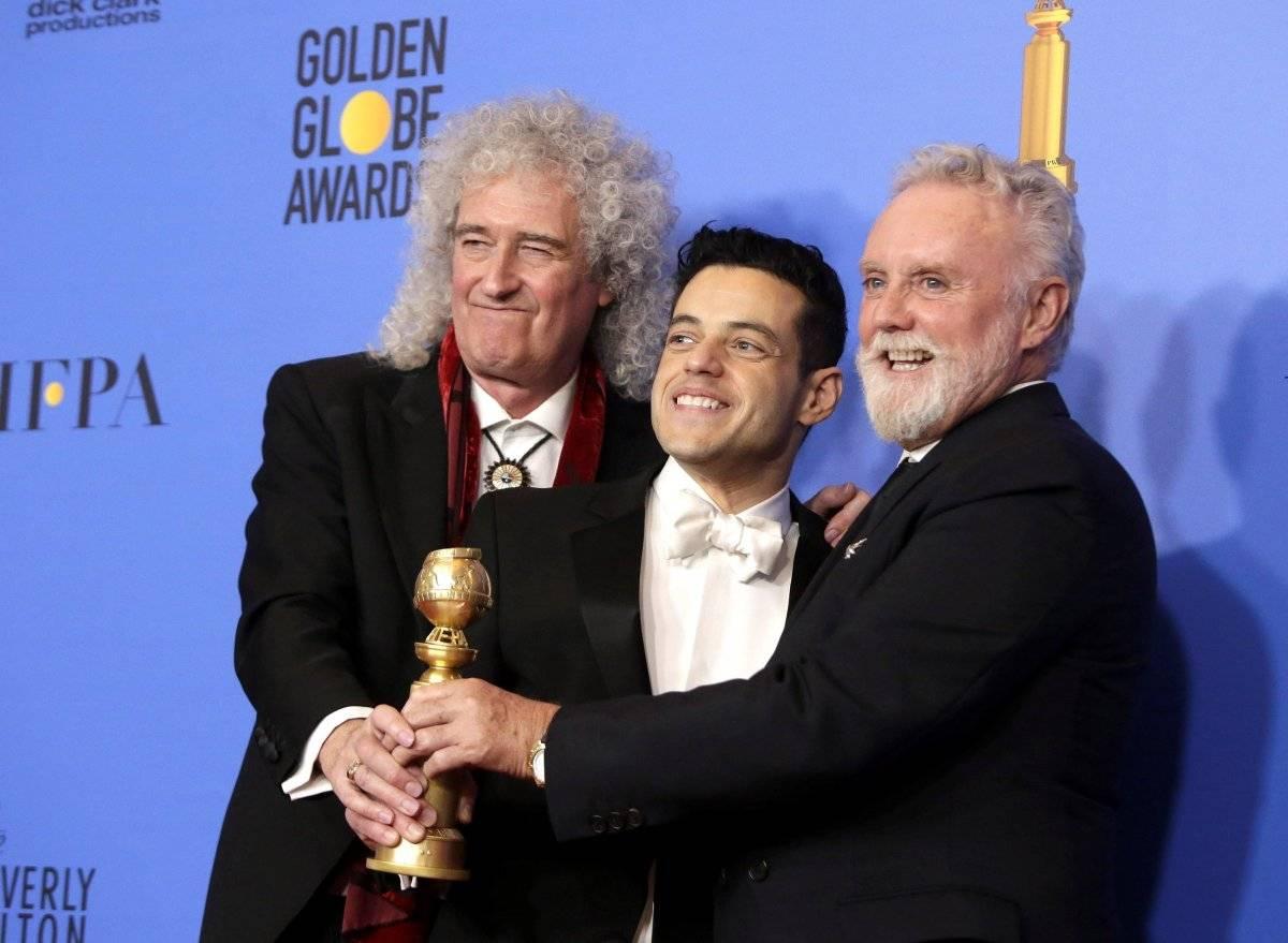 "Rami Malek, mejor actor de drama por ""Bohemian Rhapsody"""