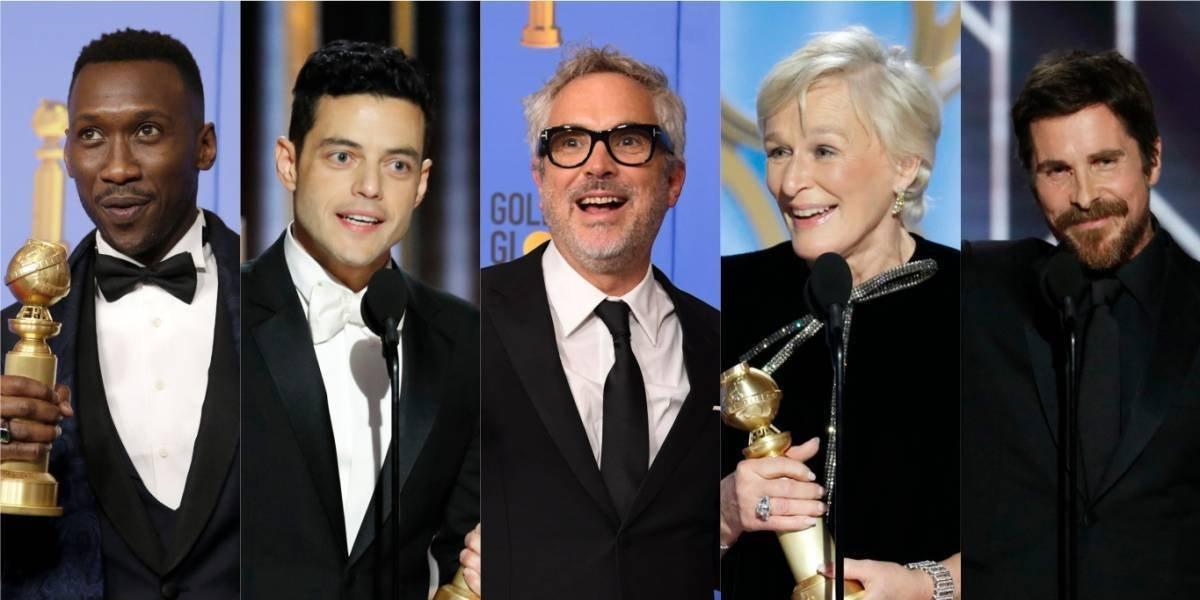 Los ganadores de los Globos de Oro 2019