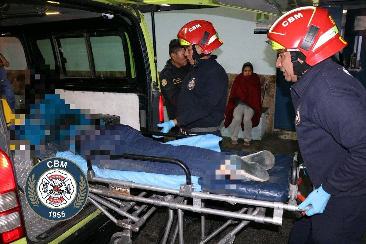 herido en intento de asalto zona 18