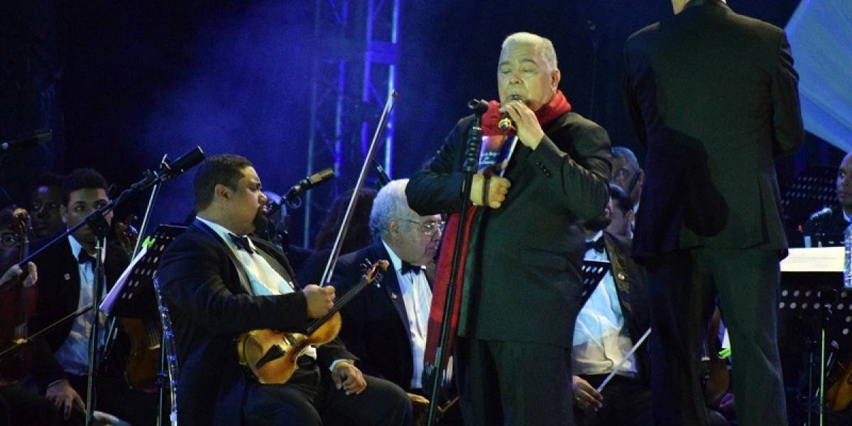Danny Rivera regaló un memorable concierto en honor a la patria