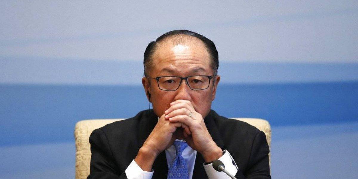 Renuncia el presidente del Banco Mundial