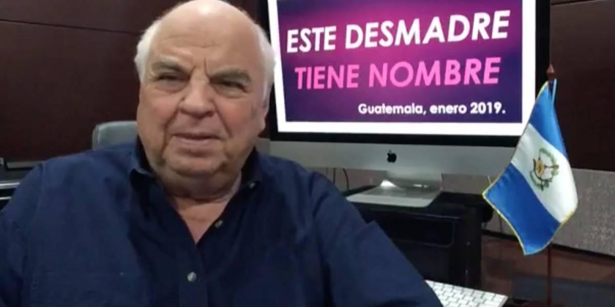 """Jorge Serrano explica el """"Serranazo"""" y señala comparaciones con el """"actual desmadre"""""""