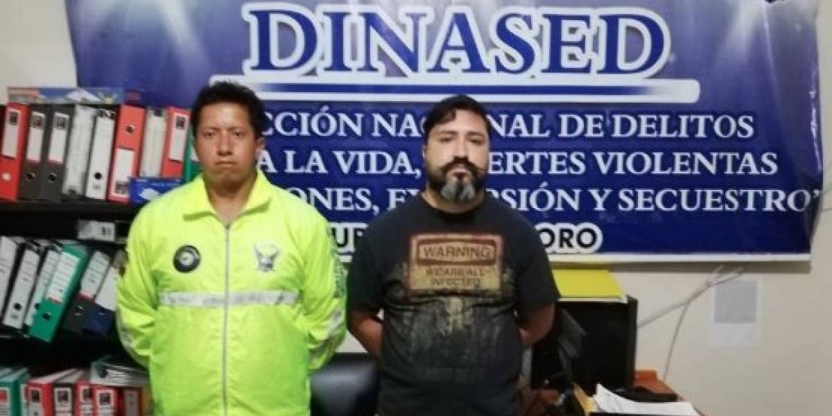 Hombre sentenciado a cadena perpetua en Perú fue detenido en Machala
