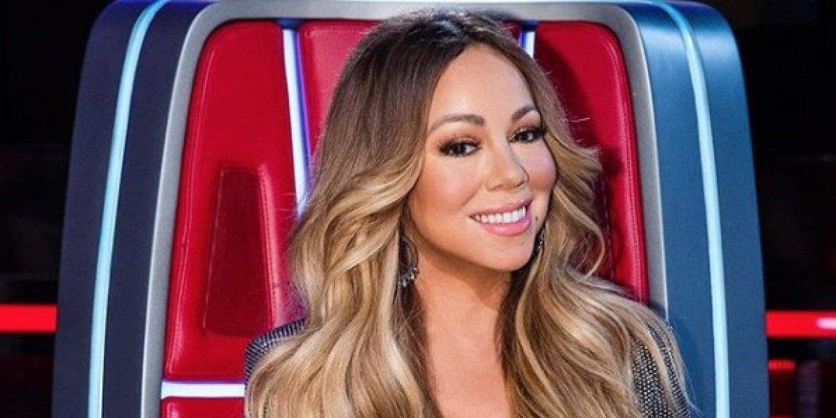 Mariah Carey sorprende al publicar foto en diminuto bikini a sus 48 años