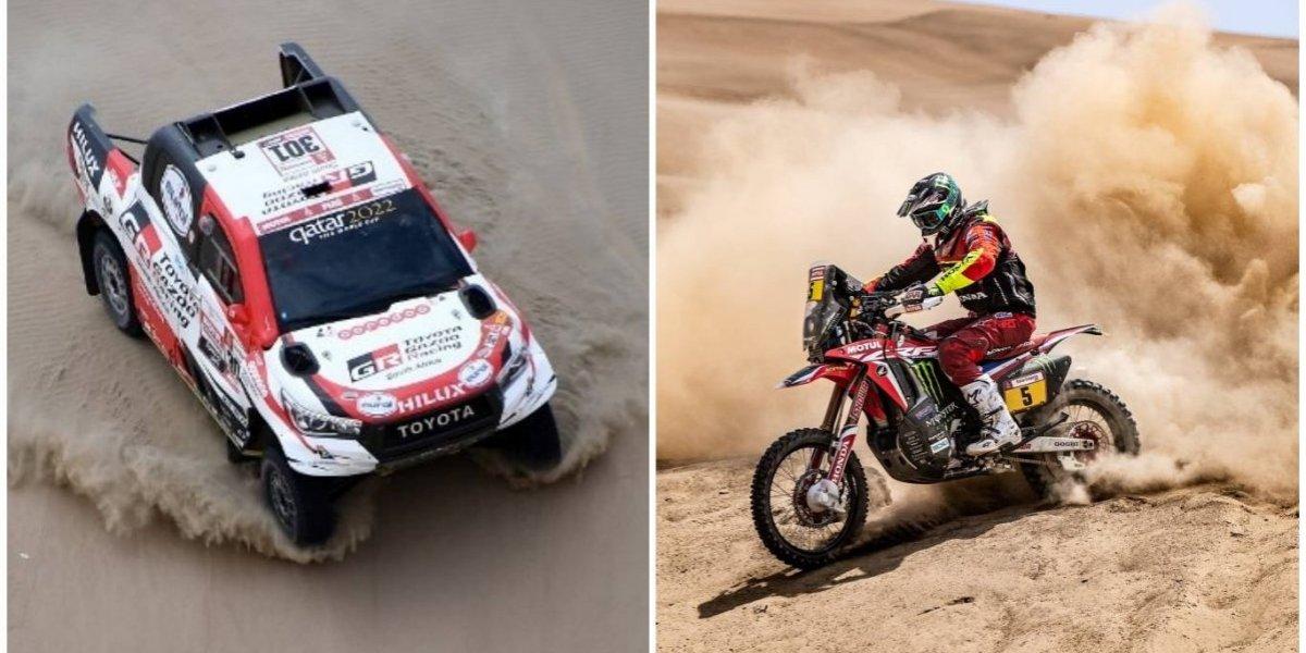 Al-Attiyah y Barreda destacan en la primera etapa del Rally Dakar