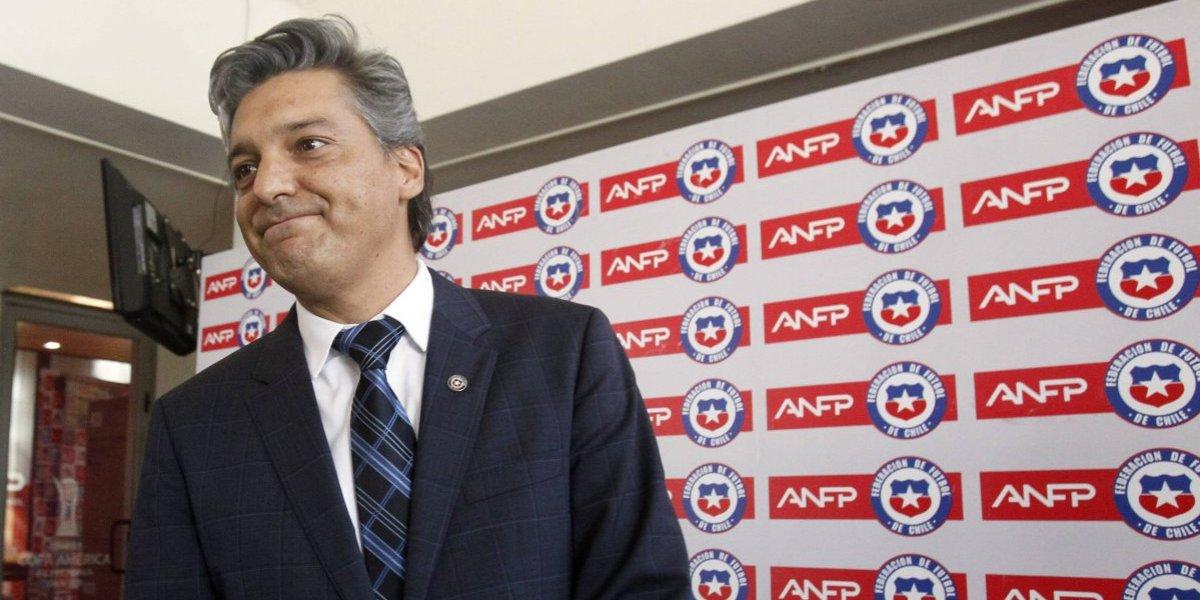 """Sebastián Moreno y su asunción como presidente de la ANFP: """"Quiero invitarlos a todos a confiar"""""""