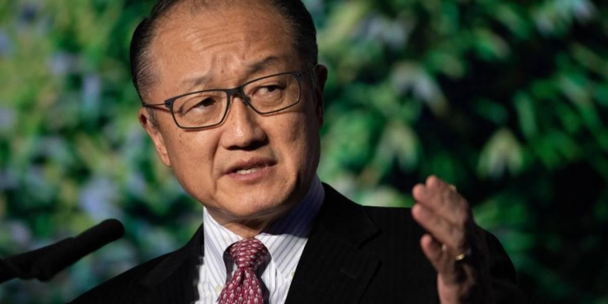 El presidente del Banco Mundial anuncia inesperadamente su renuncia