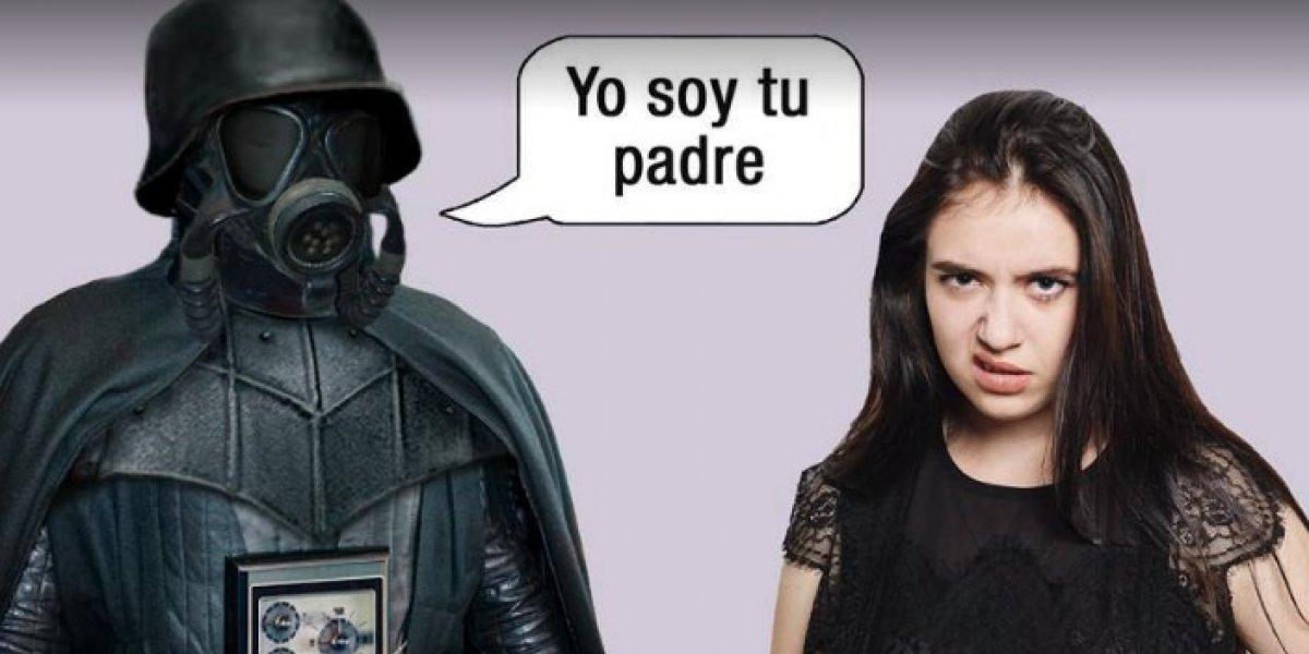 Con meme de Darth Vader, SCJN expone un amparo de cambio de apellidos