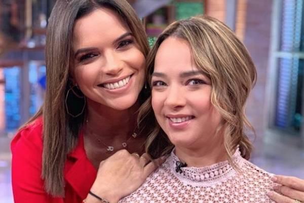 Rashel Díaz entrevistó a Adamari López