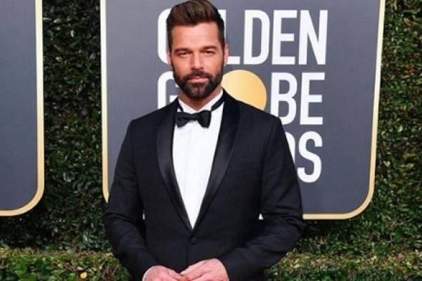 Ricky Martin en los Globos de Oro 2019