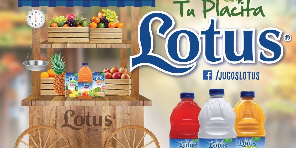 Lotus celebra la frescura de sus jugos con nueva imagen