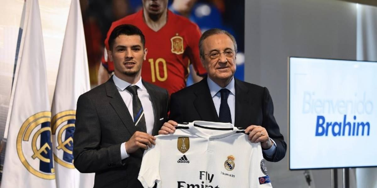 Así fue la presentación de Brahim Díaz como nuevo jugador del Real Madrid
