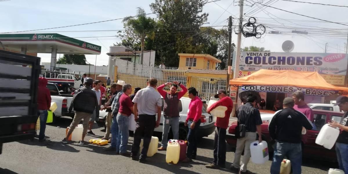 CNDH advierte posible vulneración de derechos ante falta de combustible