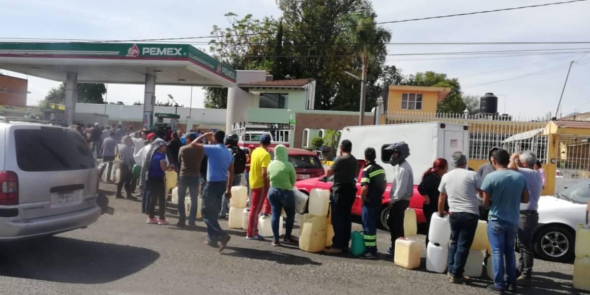Prevén pérdidas millonarias en Michoacán si continúa desabasto de gasolina