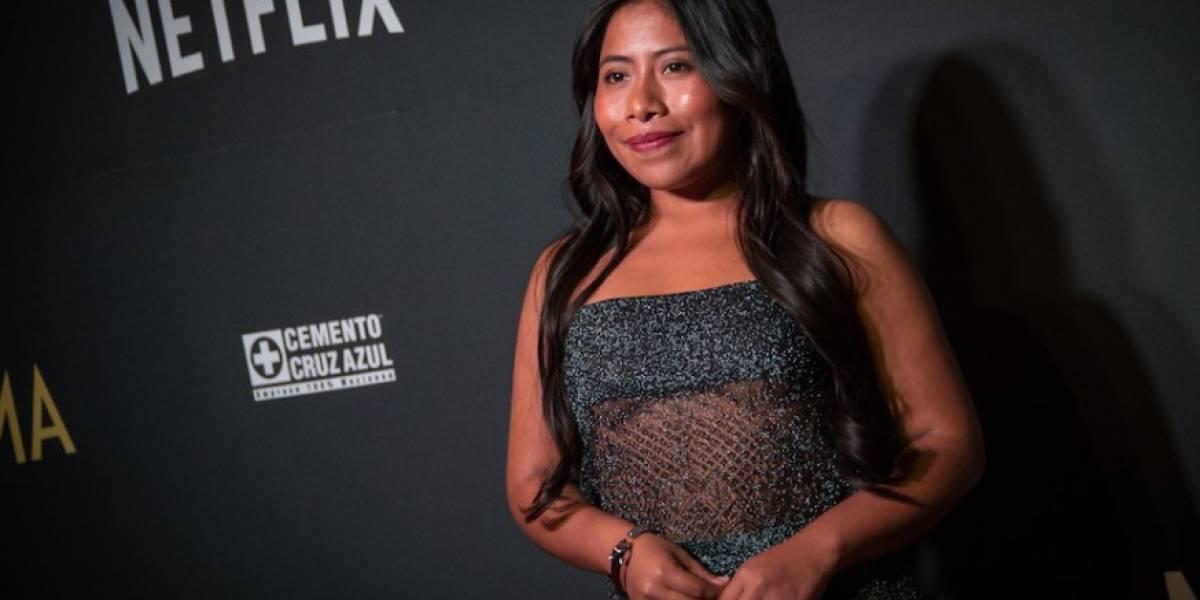 """Captan a actriz de """"Roma"""" bailando cumbia luego de los Globos de Oro"""