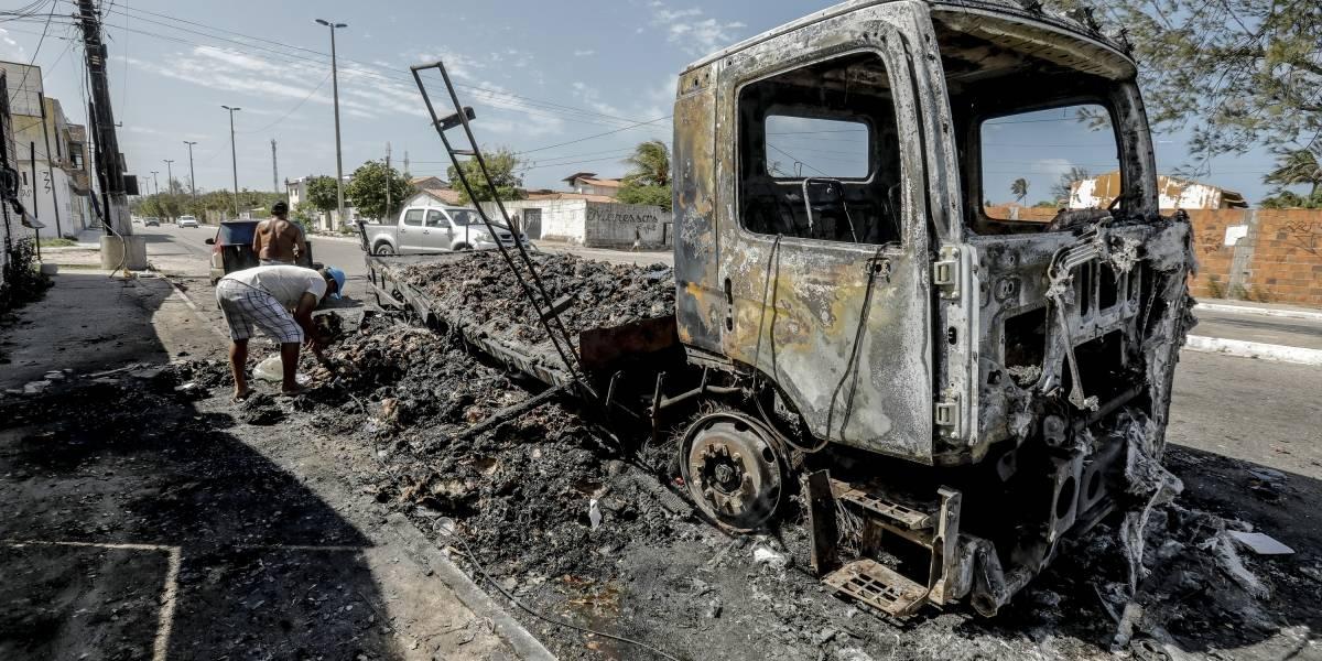 Estado do Ceará tem sexta noite de ataques criminosos; já são quase 150 presos