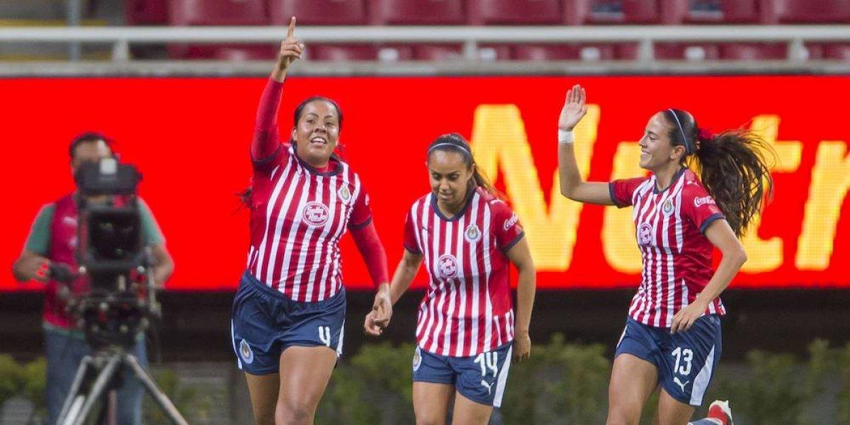 Chivas debutó con triunfo en la Liga MX Femenil