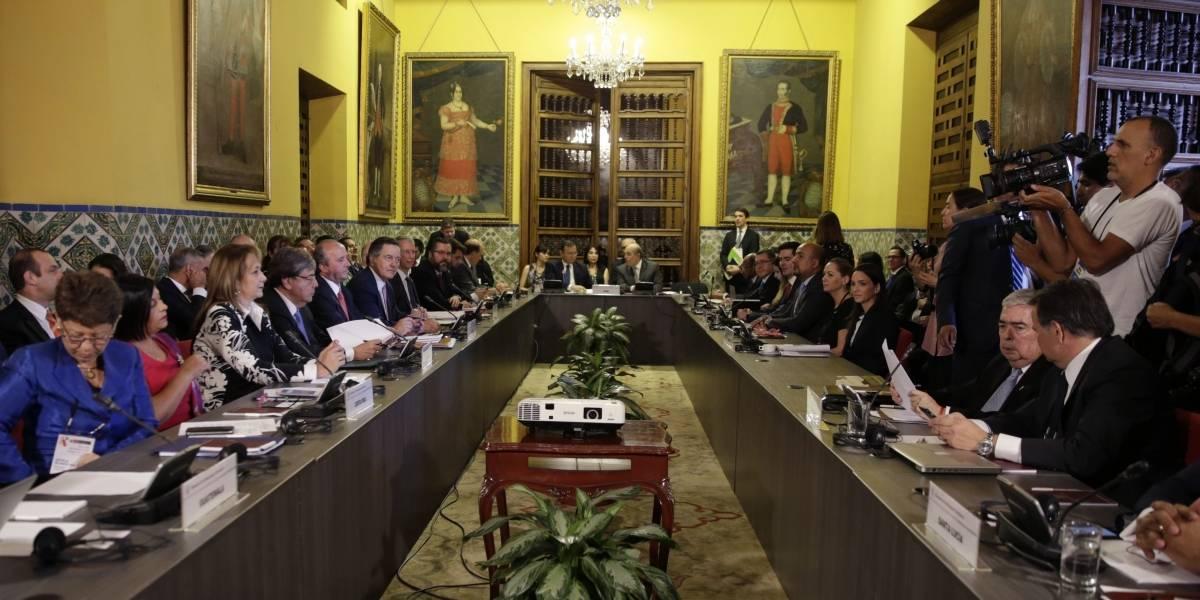 Grupo de Lima, excepto México, prohibe que Maduro entre a sus países