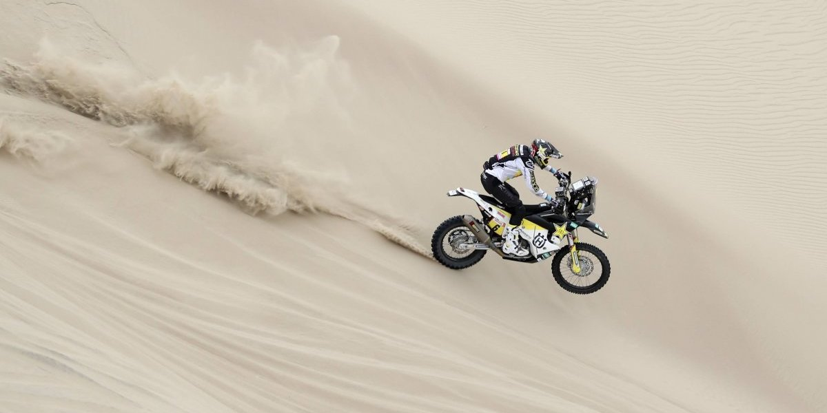 Pablo Quintanilla se mantuvo como el mejor latinoamericano tras la segunda etapa del Dakar 2019
