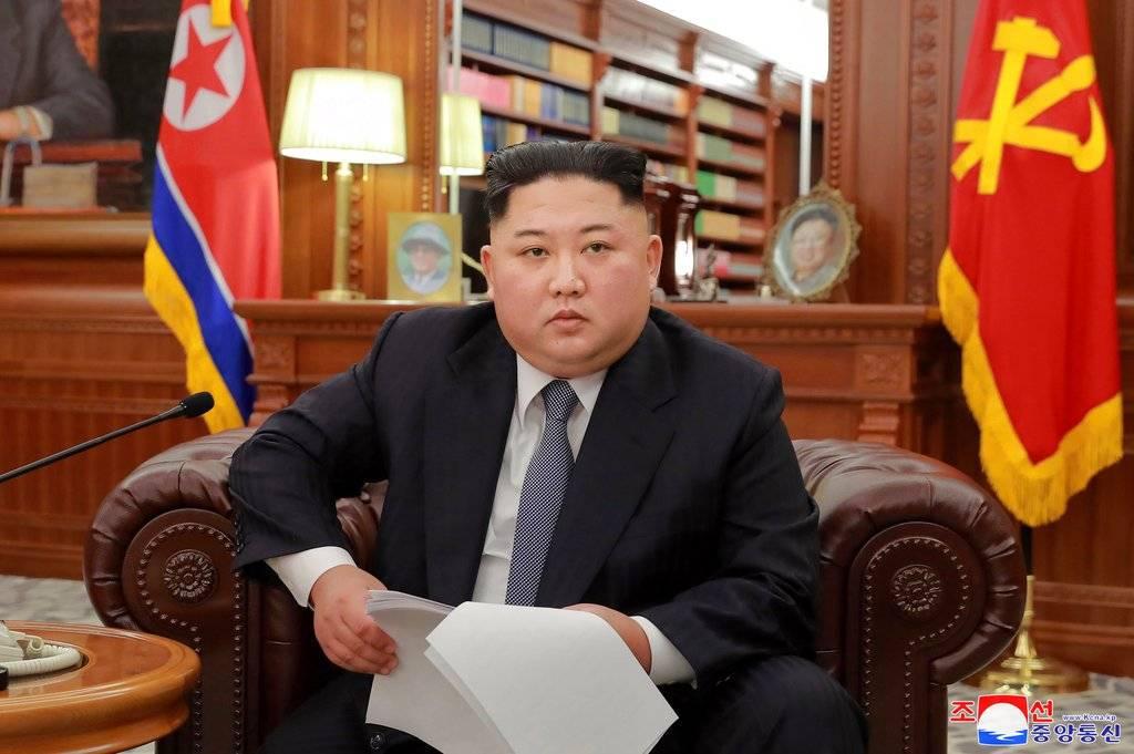 Kim Jong-un, en su vista a Xi Jinping Foto: AP