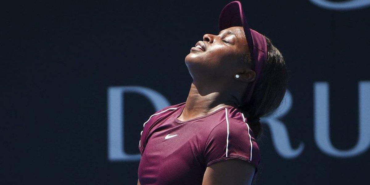 Sloane Stephens avanza en el torneo de Sydney