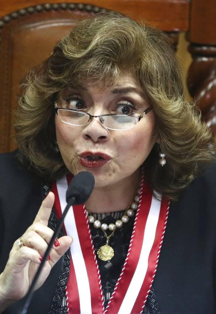 Zoraida Avalos, Fiscal General de Perú