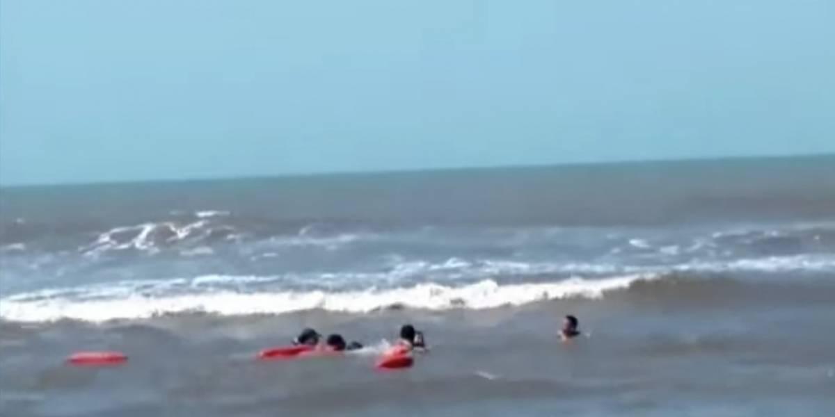 Mujer murió ahogada mientras trataba de salvar a su hijo
