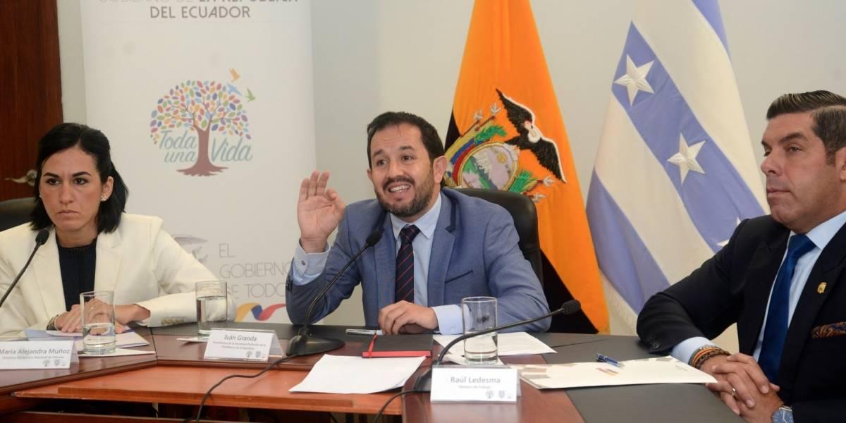 Iván Granda informó de nuevo caso de corrupción en el Gobierno de Correa