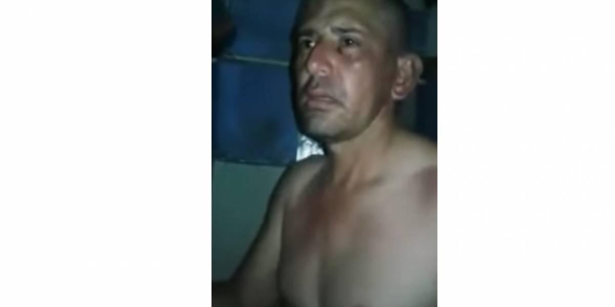Reos colombianos registran brutal recibimiento a violador y asesino de niña de 12 años