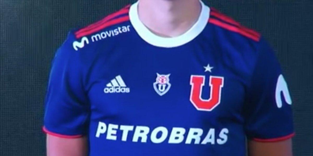 Vuelve el rojo en las líneas y con nuevo sponsor: La U presentó su camiseta para la temporada 2019