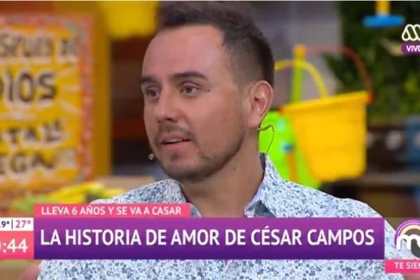 074db02820 Suenan campanas de boda  César Campos recibió una romántica ...