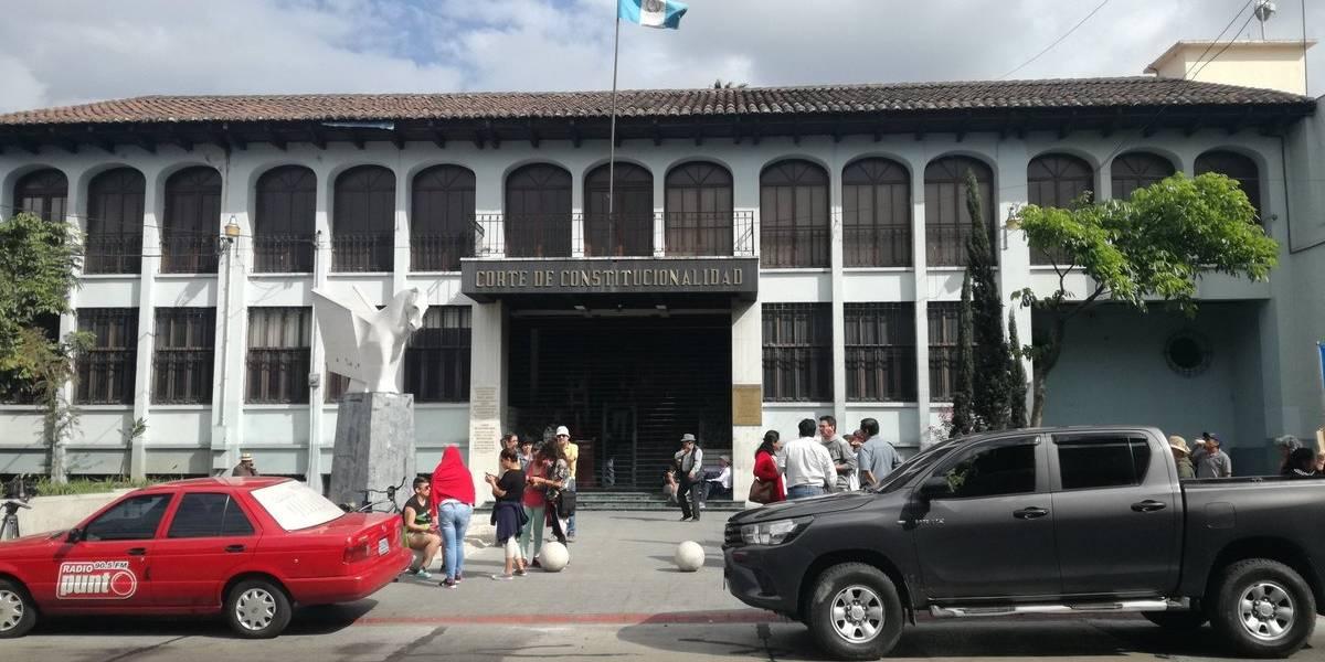 Corte de Constitucionalidad da trámite a amparos por decisión del Gobierno sobre CICIG