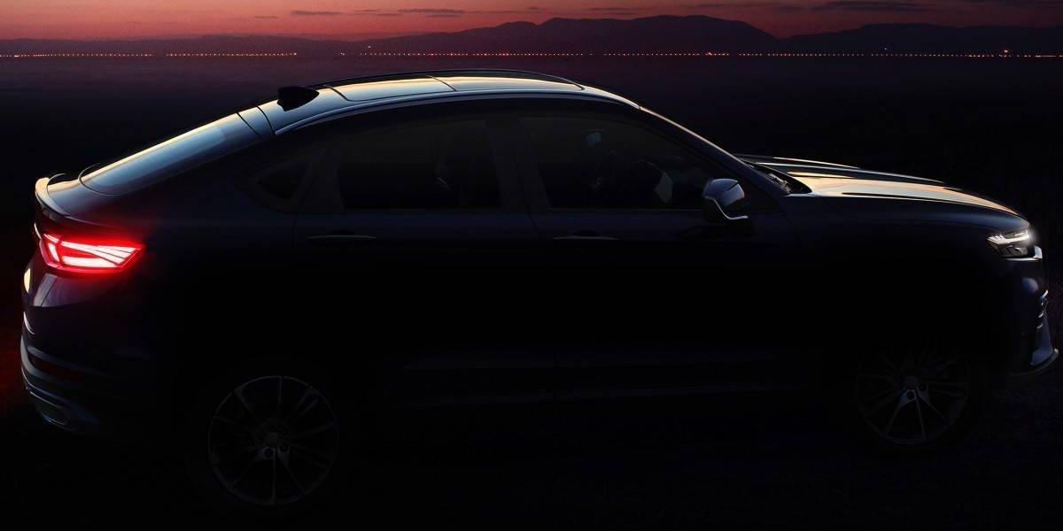 Geely define su nueva línea de diseño con un SUV Coupé