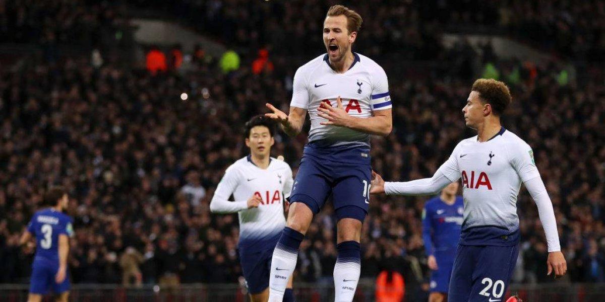 Tottenham dio el primer paso ante Chelsea y sueña con la final de la Copa de la Liga