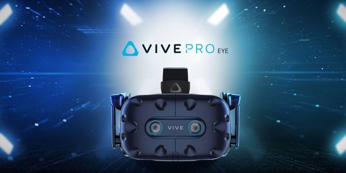 HTC anuncia las Vive Pro Eye, sus nuevas gafas de realidad virtual con seguimiento ocular #CES2019