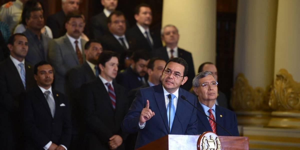 Cacif apoya la decisión del presidente Morales de dar fin a mandato de Cicig