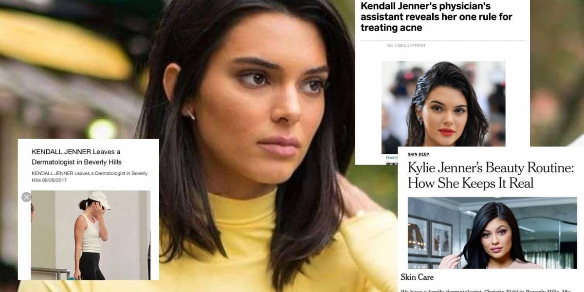 """""""Eres una falsa"""" Así es criticada Kendall Jenner al presentar su nueva alianza con productos para el acné"""