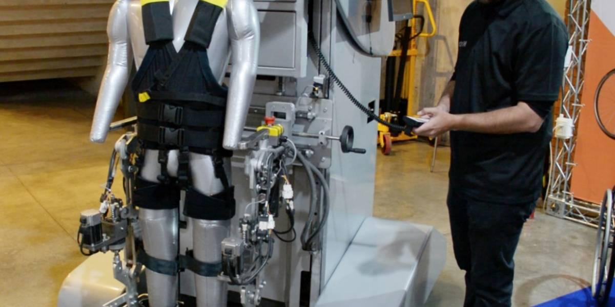 Buscan fondos para construir el primer exoesqueleto robótico de rehabilitación de Chile