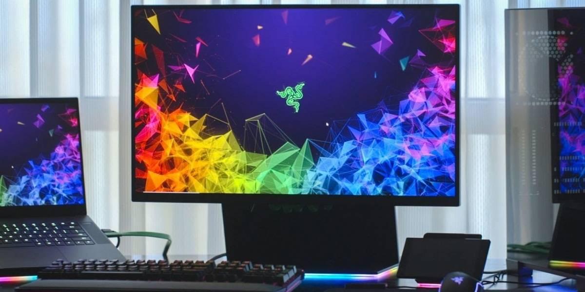 Razer presenta su primer monitor para videojuegos, el Raptor de 27 pulgadas #CES2019