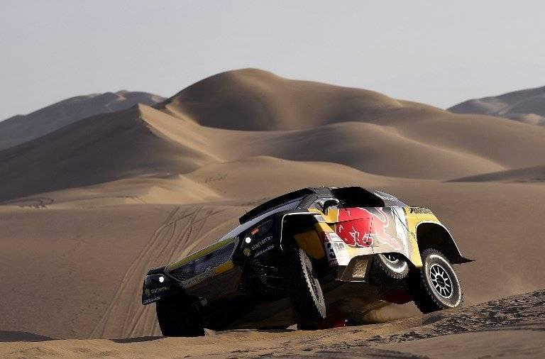 El Rally Dakar 2019 se corre por primera vez en un solo país, Perú. AFP y EFE