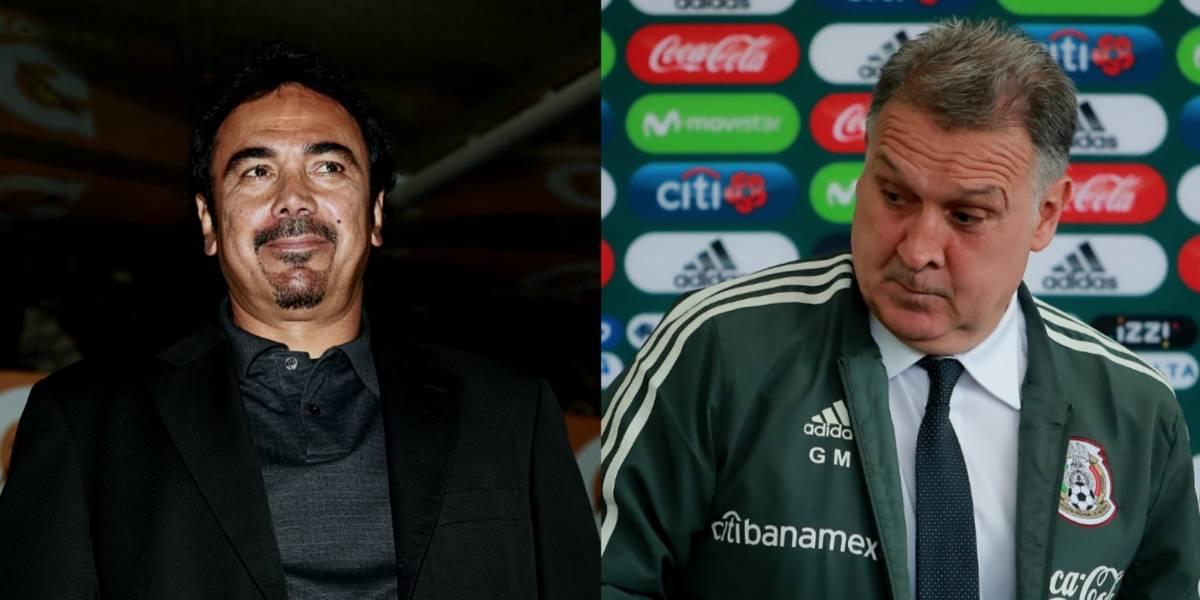 'No es bienvenido al Tri': Hugo Sánchez sobre Tata Martino