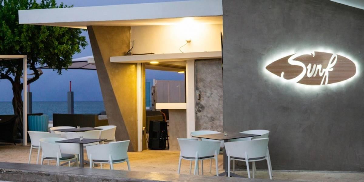 Coctelería bien pensada en Surf Caffé en Condado