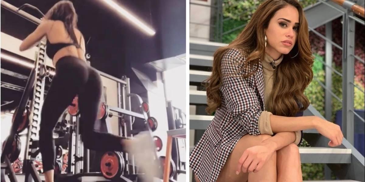 Actriz de Tv Azteca imita a Yanet García y presume su derriére