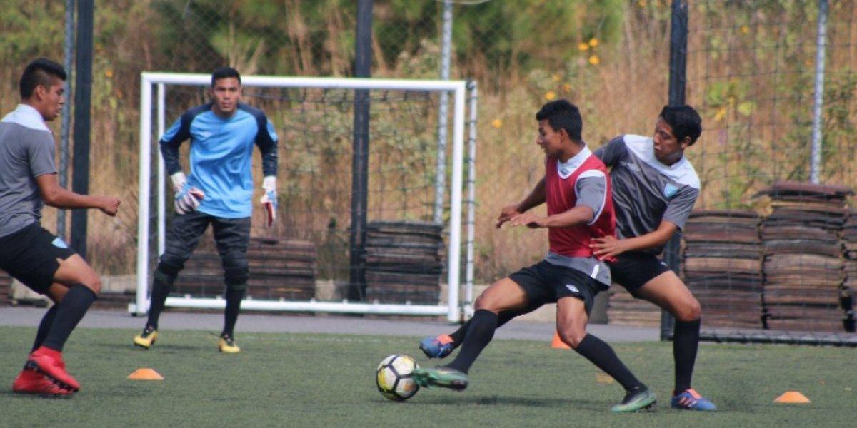 Selección Sub-23 sostiene sus primeras prácticas del año