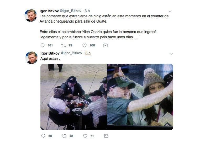 Tuits del ruso Igor Bitkov