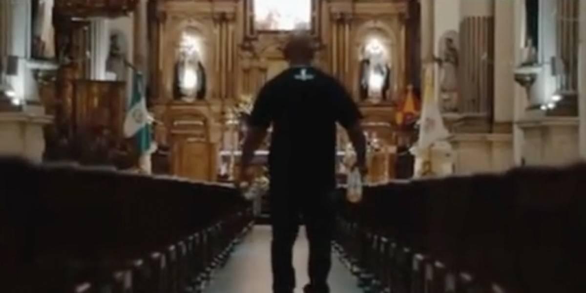 Rechazan video con oscuro mensaje grabado en templo de Santo Domingo en zona 1