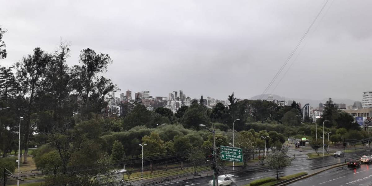 Quito: Lluvias continuarán en los próximos días, según el Inmahi
